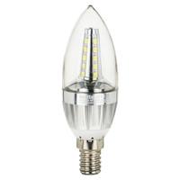 Bohlam Lampu Lilin Cabe LED Candle Hias 5watt E14 not Philips Putih