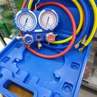 Testing Manifold ac R410 R32 Value bok box double gauge