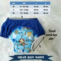 Velve Training Pants | toilet training | celana latihan pipis