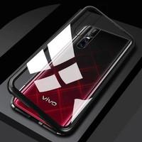 Vivo V15 / S1 Premium Clear Aluminium Magnetic Case 1381 - Putih