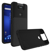 Rhinoshield SolidSuit Carbon Fiber Casing For Asus Zenfone 6 Black