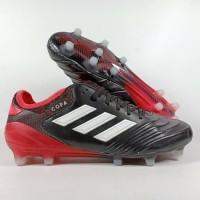 PROMO Sepatu Bola Adidas Copa 18 1 Core Black Red FG Replika Impor TE