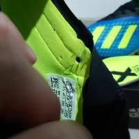 Sepatu Bola Soccer Adidas X 18 1 Next Gen Energy Mode Blue Volt FG T