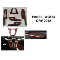 Wooden panel ALL New CRV 2012