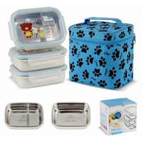 GIG Baby Rectangular Lunch Box 3 Susun / Lunch Box 3 Susun