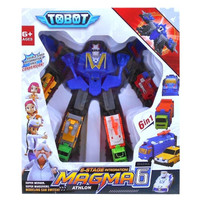 tobot magma 6 bisa berubah jadi 6 mobil