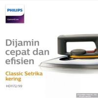 Philips setrika hd1172 classic dry iron hd 1172