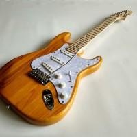 Gitar Listrik Fender Stratocaster Yellow Color Murah