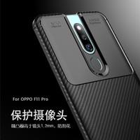 Fiber Carbon Case Oppo F11 Pro Premium Quality