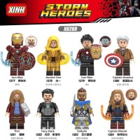 Mainan Brick Desain Lego Marvel The Avengers 4 Captain America untuk A