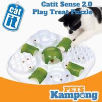 Mainan kucing tempat makan Catit 2.0 play treat puzzle 43010
