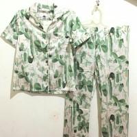 piyama kaktus hijau