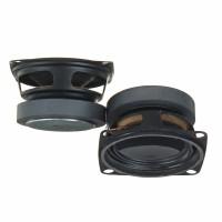 Terlaris 2Pcs Subwoofer 2inch 4ohm 5w Full Range Speaker Mini DIY