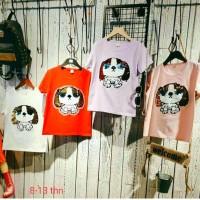 baju atasan anak(sequin)8-13t/kaos anak perempuan import