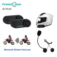 2 Pcs FreedConn T-COM VB Intercom 800M Bluetooth Interphone