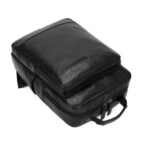 Tas Ransel Backpack Sekolah Travel Kulit Asli 100% Import Premium USA