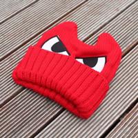 Eye Hat Topi Kupluk Bayi Karakter Mata Bahan Rajut