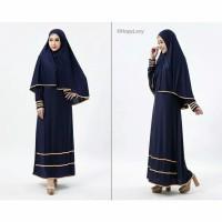 Pakaian Baju Busana Muslim Wanita SYFAROSE Setelan Gamis Syari Terbaru