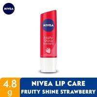 Nivea Lip Care - Fruity shine beauty stick strawberry 4.8g