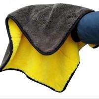 Kain Lap Microfiber Handuk Towel Premium Tebal 800GSM 43cm x 38cm