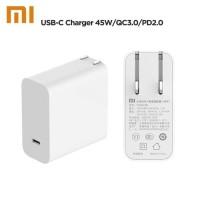 ORIGINAL XIAOMI USB POWER ADAPTER TYPE C OUTPUT PORT 45W QC 3.0 PD 2.0