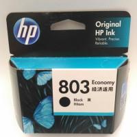 Tinta Printer HP 803 Black Economy ORIGINAL Ink Cartridge
