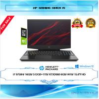 "LAPTOP HP OMEN 15 DH0180TX RTX2060 I7-9750H 16GB 512GB+1TB 15,6""144Hz"