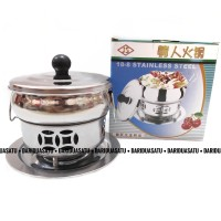 Panci Shabu Shabu Hot Pot Steamboat 16 cm