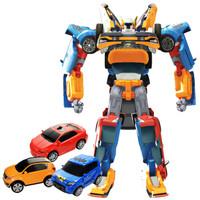 Tobot Tritan Mini 3 in 1 Mainan Anak Laki Robot XYZ 3 Mobil Transform
