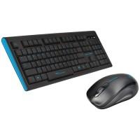 Keyboard Wireless dan Mouse Wireless Combo ALCATROZ