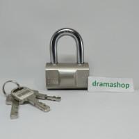 Kunci Gembok Pintu Pagar Rolling Door Toko bulat bantal Pendek 50 50mm