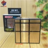 Rubik Mirror Qiyi GOLD Rubik Murah