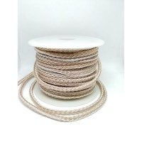 16 Braid High Grade Silver Hybrid Best For M2M Aux Cable Per 15cm