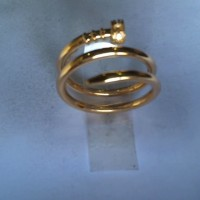 cincin paku spiral