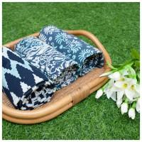 Kain bahan katun halus batik cap garutan Kombinasi 073 - 075
