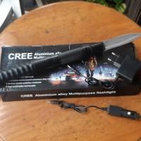 senter Cree dan pisau jadi 1 Bushcraft.