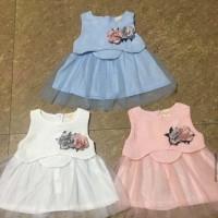 DRESS BABY GIRL LUCU 0-24 BLN ( IMPORT-6014)