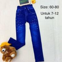 legging anak bahan tebal& lembut(import) size 7-12thn