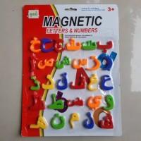 Mainan magnet huruf hijaiyah - Edukasi anak - MURAH