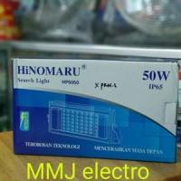 Lampu Sorot Led- Flood Light Hinomaru 50w-Putih