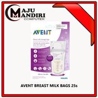 AVENT BREAST MILK BAGS 25s / KANTONG ASI AVENT