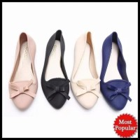 Terpopuler Flat Jelly Shoes | Sepatu Sendal Pita Wanita - Santai |