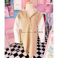Good Quality Dress Terusan Kemeja Panjang Import Korea Premium Wanita