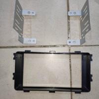 frame head unit oem bingkai tape Mitsubishi xpander all new pajero fra