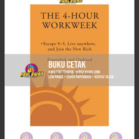 BUKU CETAK - The 4-Hour Workweek (Expanded and Updated) by Timothy