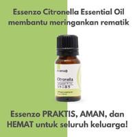 REMATIK, NYERI OTOT & SENDI? Essenzo Citronella Essential Oil obatnya!