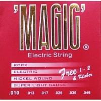 """Senar Gitar Elektrik """"MAGIC"""" Serie : 010"""