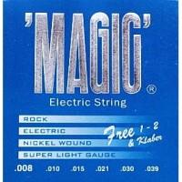 """Senar Gitar Elektrik """"MAGIC"""" Serie : 008"""