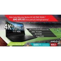 Laptop Lenovo Ideapad 110 AMD A9-9400/RAM 4GB/HDD 500GB/Win10