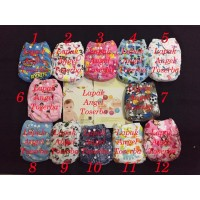 clodi ( cloth diaper ) baby carter/Clodi motif/cloudy/baby Grow/catell